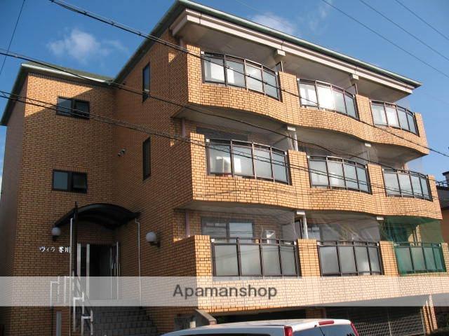 大阪府高槻市、高槻駅徒歩13分の築21年 4階建の賃貸マンション