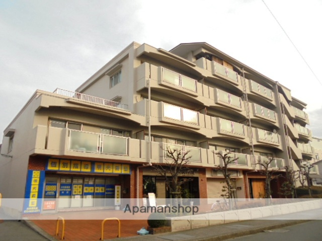 大阪府三島郡島本町、島本駅徒歩10分の築33年 7階建の賃貸マンション