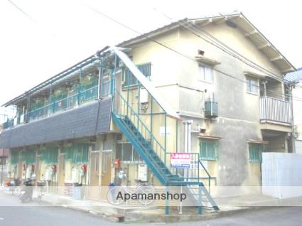 大阪府高槻市、摂津富田駅徒歩20分の築40年 2階建の賃貸アパート
