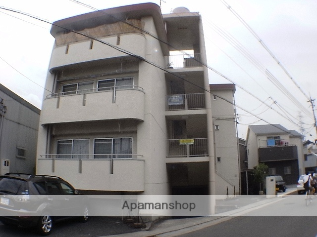 大阪府高槻市、島本駅徒歩18分の築38年 3階建の賃貸マンション