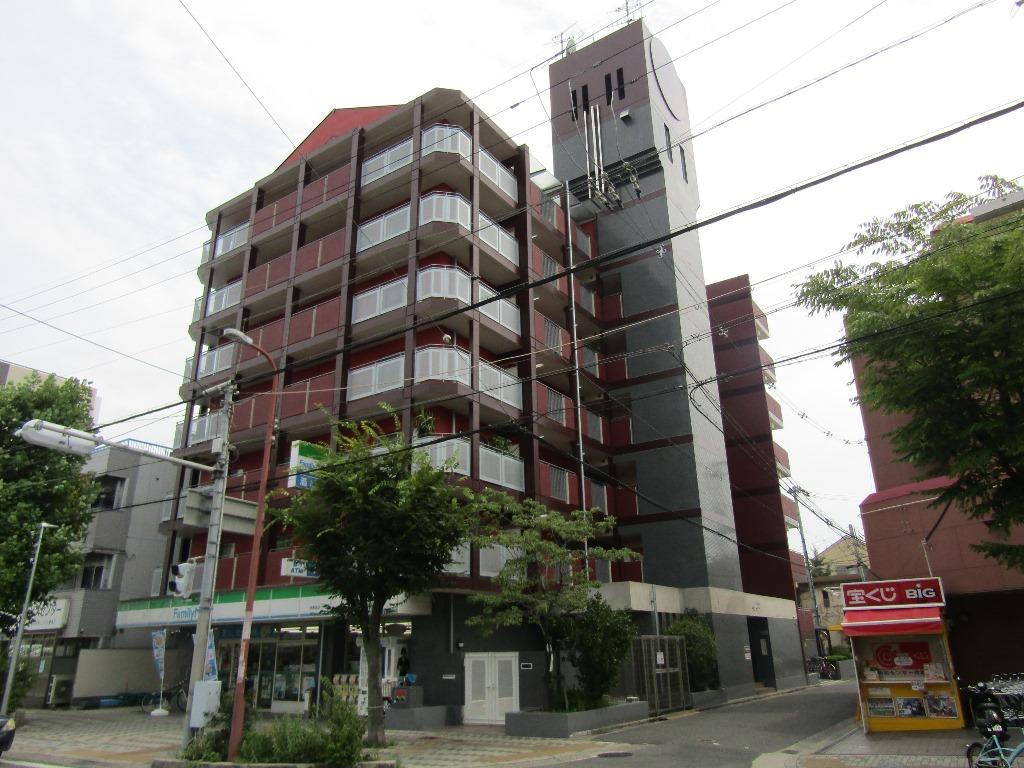 大阪府東大阪市、JR俊徳道駅徒歩2分の築22年 7階建の賃貸マンション