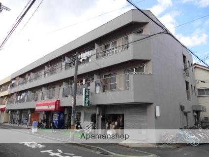 大阪府東大阪市、JR俊徳道駅徒歩9分の築40年 3階建の賃貸マンション