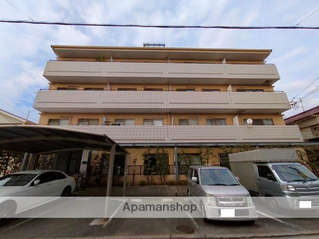 大阪府八尾市、近鉄八尾駅徒歩23分の築29年 4階建の賃貸マンション