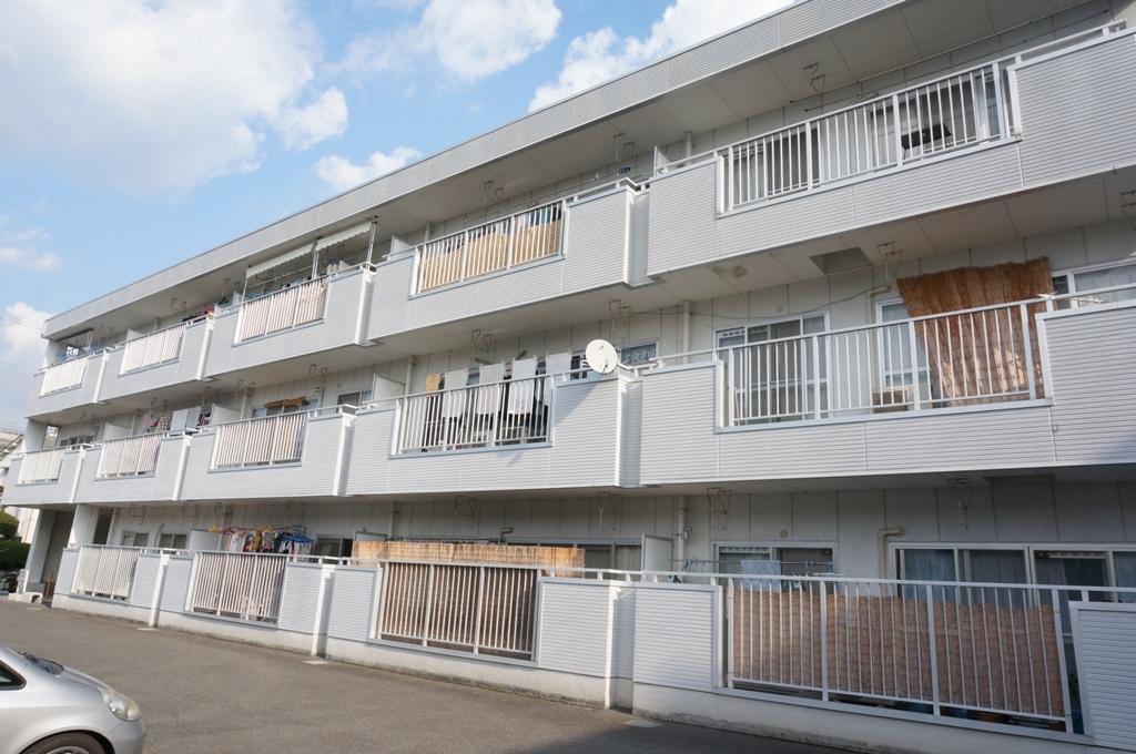 大阪府東大阪市、石切駅徒歩25分の築23年 3階建の賃貸マンション
