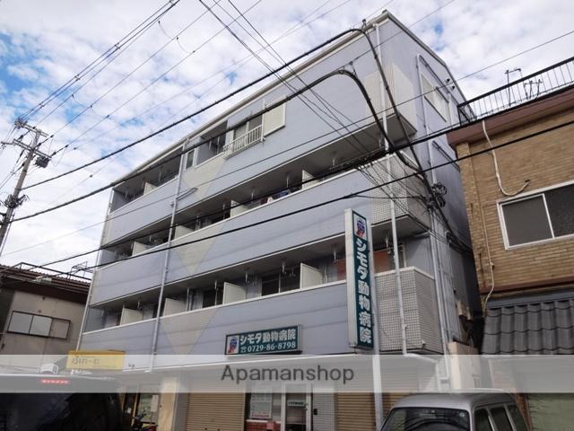 大阪府東大阪市、額田駅徒歩32分の築26年 4階建の賃貸マンション