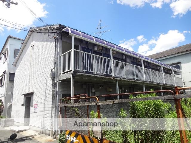 大阪府東大阪市、JR長瀬駅徒歩14分の築22年 2階建の賃貸アパート