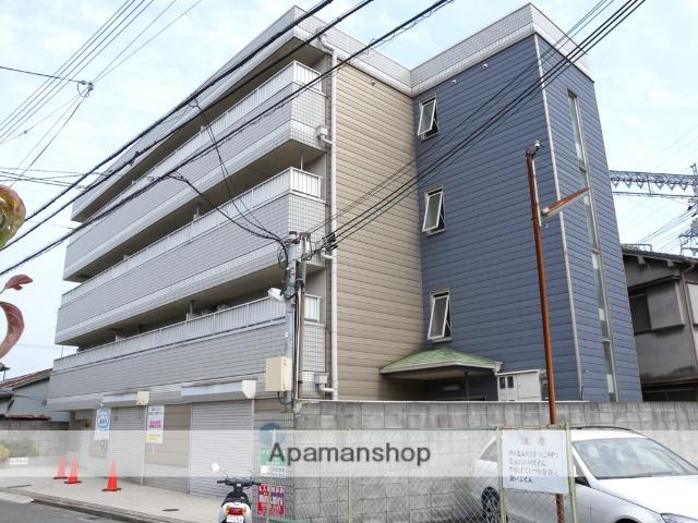 大阪府八尾市、弥刀駅徒歩16分の築27年 4階建の賃貸マンション