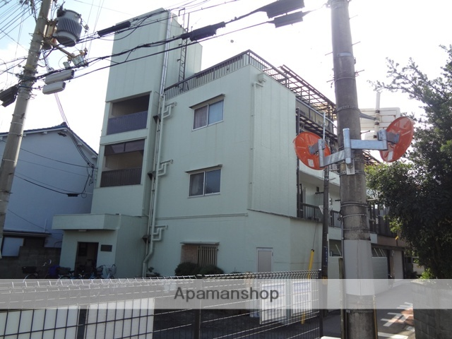大阪府東大阪市、JR俊徳道駅徒歩20分の築41年 4階建の賃貸マンション