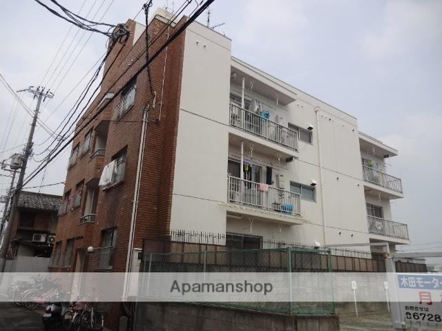 大阪府東大阪市、JR長瀬駅徒歩7分の築33年 3階建の賃貸マンション