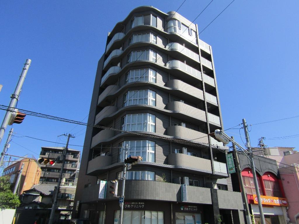 大阪府東大阪市、JR長瀬駅徒歩11分の築1年 9階建の賃貸マンション