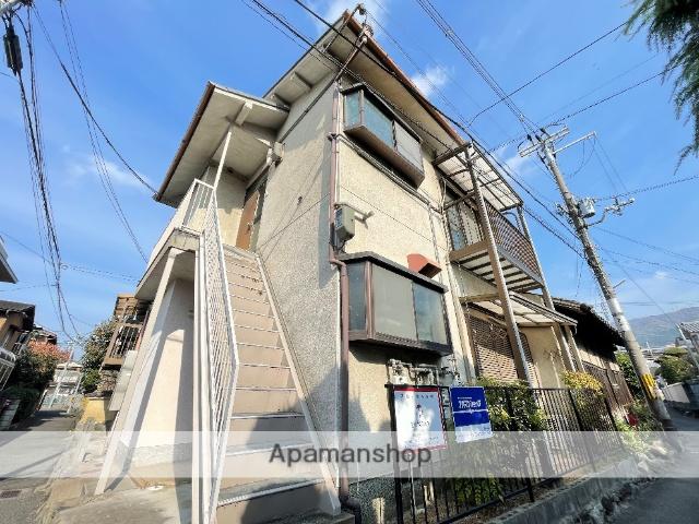 大阪府東大阪市、額田駅徒歩20分の築32年 2階建の賃貸アパート