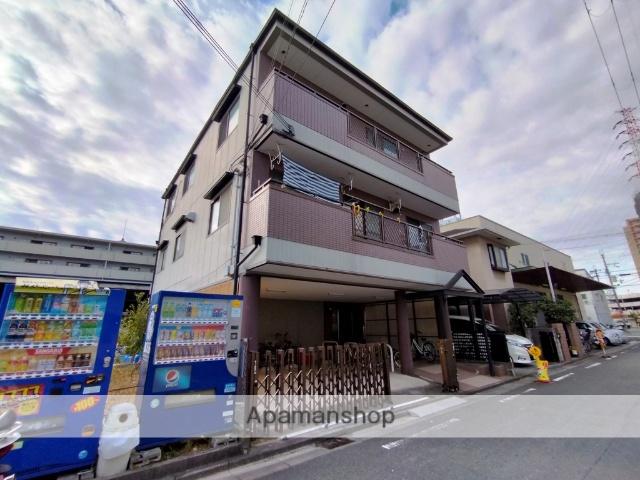 大阪府東大阪市、荒本駅徒歩18分の築22年 3階建の賃貸アパート