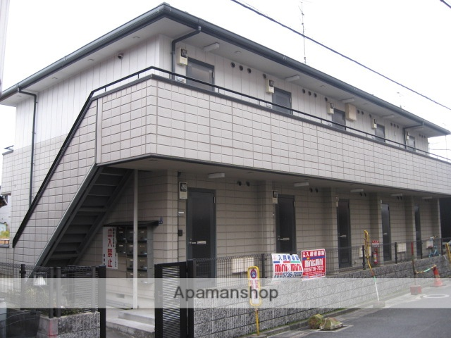 大阪府東大阪市、八戸ノ里駅徒歩25分の築19年 2階建の賃貸アパート