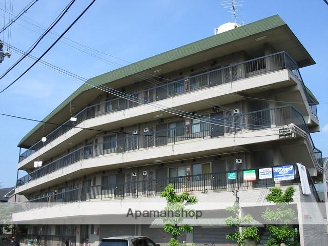 大阪府東大阪市、河内花園駅徒歩17分の築36年 4階建の賃貸マンション