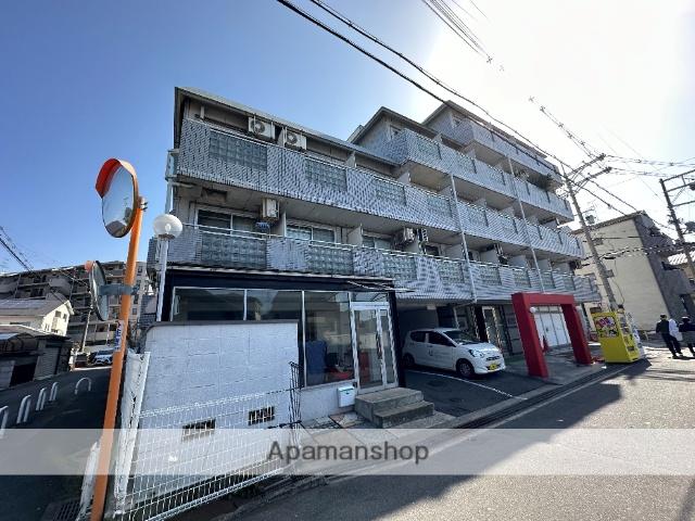 大阪府東大阪市、枚岡駅徒歩17分の築26年 5階建の賃貸マンション