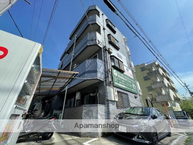 大阪府東大阪市、枚岡駅徒歩8分の築23年 4階建の賃貸マンション