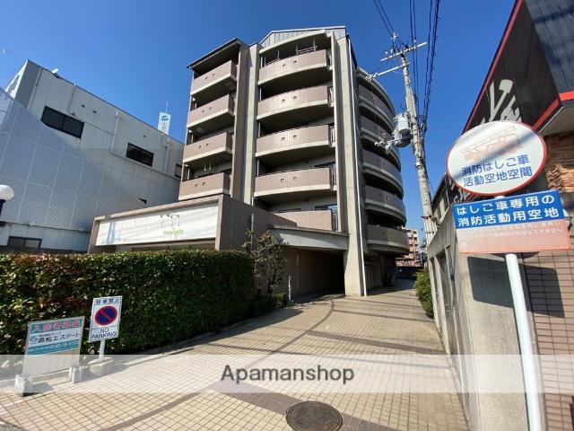 大阪府東大阪市、河内花園駅徒歩17分の築20年 6階建の賃貸マンション