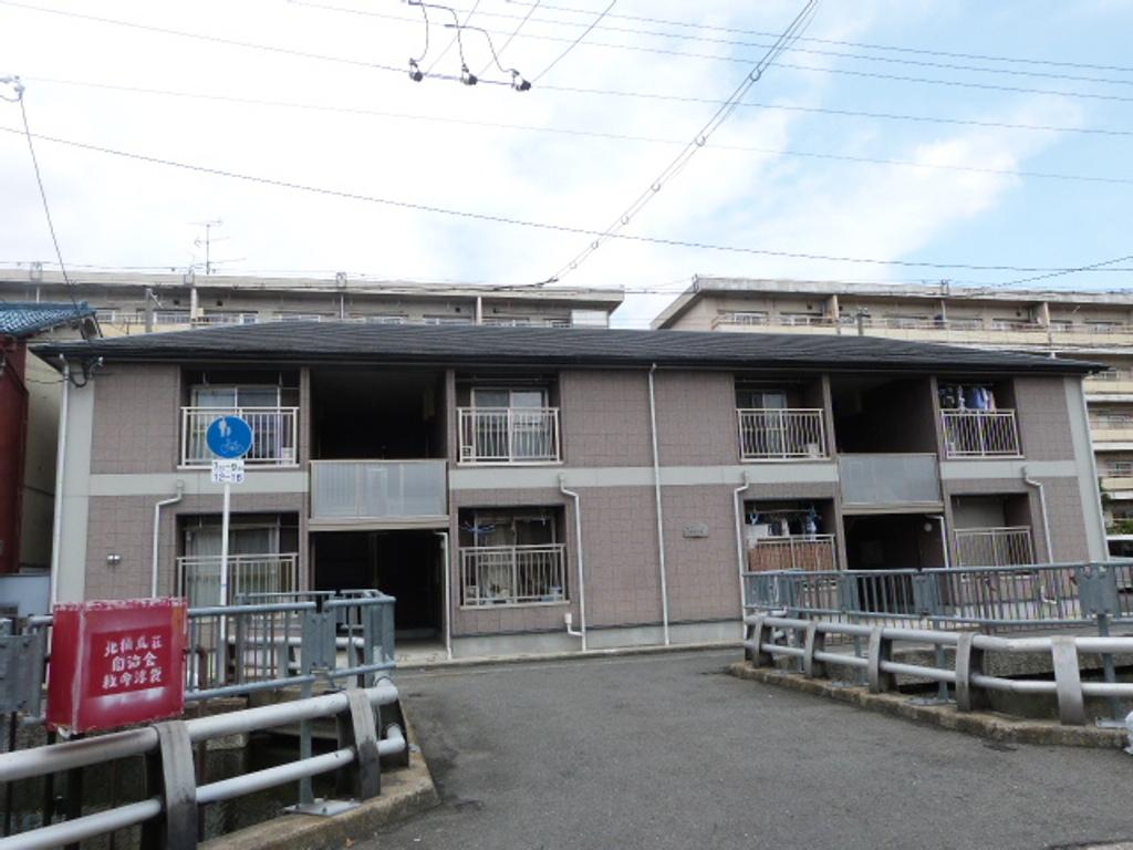 大阪府東大阪市、住道駅徒歩32分の築13年 2階建の賃貸アパート