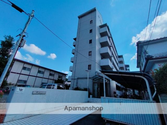 大阪府柏原市、堅下駅徒歩10分の築30年 6階建の賃貸マンション
