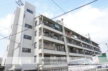 大阪府東大阪市、瓢箪山駅徒歩13分の築29年 5階建の賃貸マンション