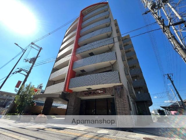大阪府東大阪市、額田駅徒歩21分の築15年 8階建の賃貸マンション