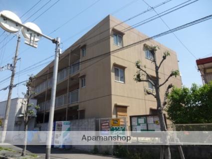 大阪府東大阪市、高井田中央駅徒歩10分の築28年 3階建の賃貸マンション