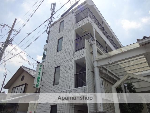 大阪府東大阪市、JR長瀬駅徒歩18分の築27年 4階建の賃貸マンション
