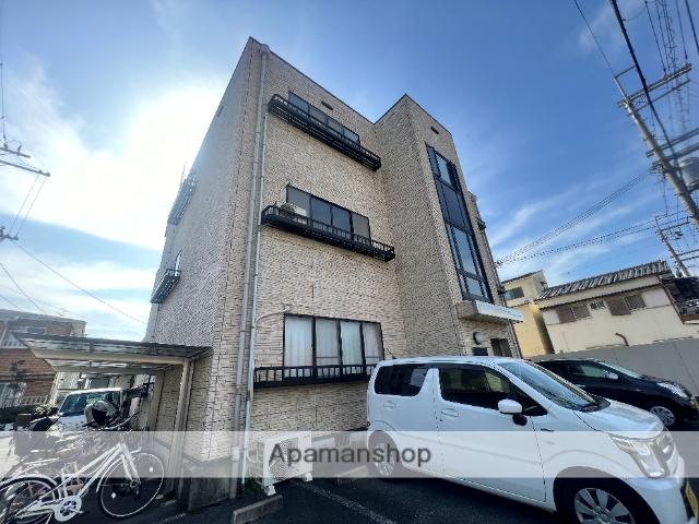 大阪府東大阪市、若江岩田駅徒歩24分の築18年 3階建の賃貸マンション