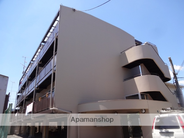 大阪府八尾市、河内山本駅徒歩8分の築22年 4階建の賃貸マンション