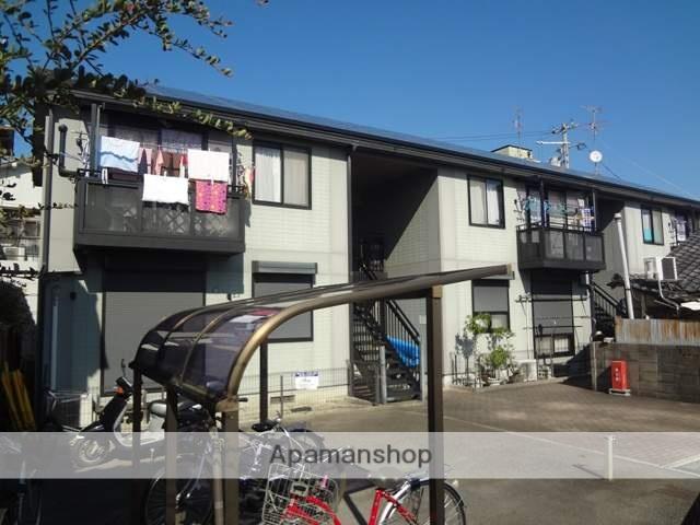 大阪府東大阪市、八戸ノ里駅徒歩22分の築17年 2階建の賃貸アパート