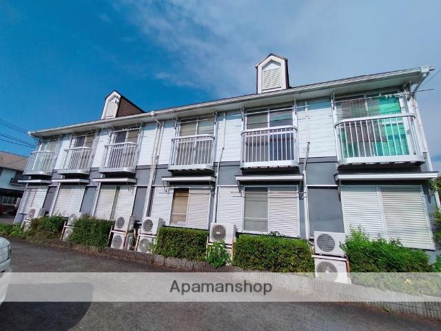 大阪府八尾市、服部川駅徒歩21分の築28年 2階建の賃貸アパート