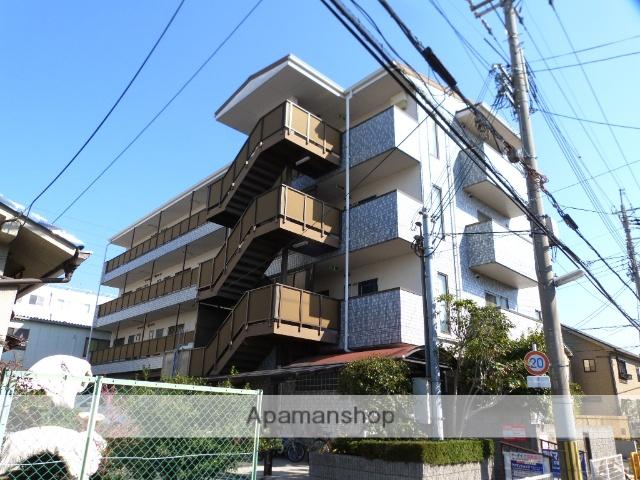 大阪府八尾市、河内山本駅徒歩11分の築22年 4階建の賃貸マンション