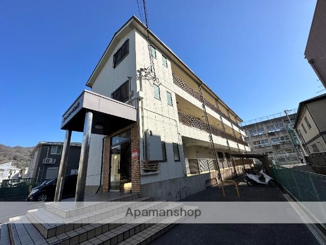 大阪府東大阪市、額田駅徒歩35分の築27年 3階建の賃貸マンション