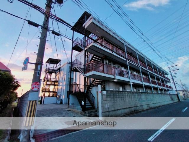 大阪府八尾市、志紀駅徒歩17分の築45年 3階建の賃貸マンション