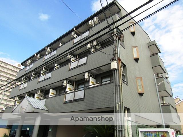 大阪府東大阪市、石切駅徒歩21分の築22年 4階建の賃貸マンション