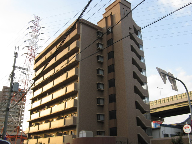 大阪府東大阪市、長田駅徒歩32分の築21年 9階建の賃貸マンション