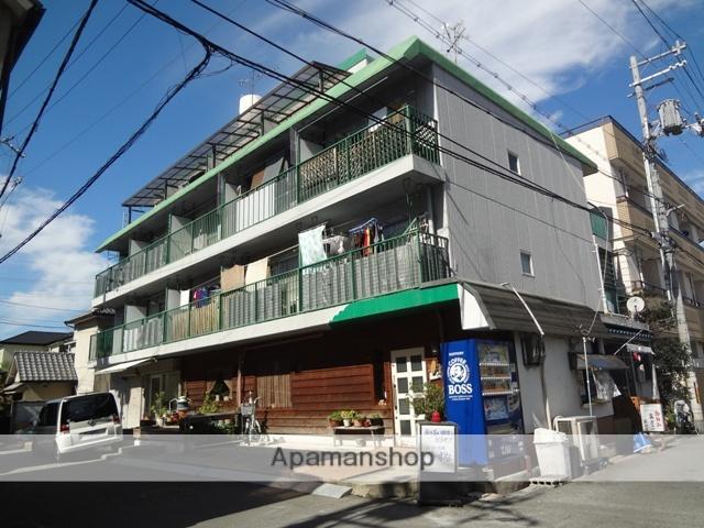 大阪府東大阪市、河内小阪駅徒歩19分の築30年 4階建の賃貸マンション
