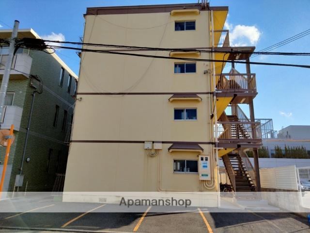 大阪府八尾市、八尾駅徒歩10分の築37年 4階建の賃貸マンション