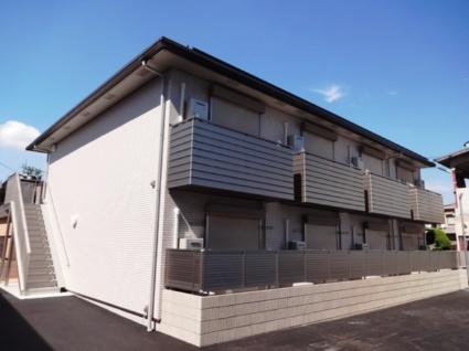 大阪府東大阪市、住道駅徒歩25分の築1年 2階建の賃貸アパート