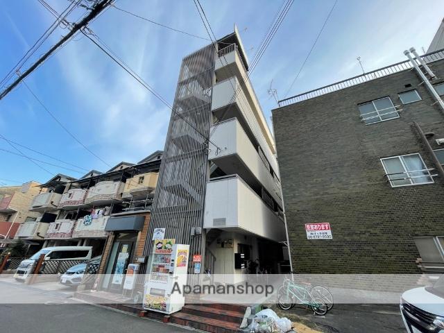 大阪府東大阪市、JR俊徳道駅徒歩6分の築30年 4階建の賃貸マンション