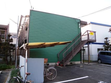 大阪府八尾市、長瀬駅徒歩23分の築37年 2階建の賃貸アパート