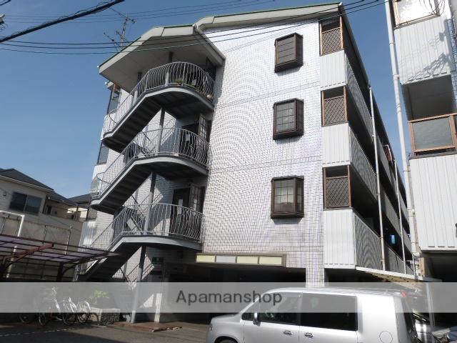 大阪府東大阪市、高井田中央駅徒歩13分の築24年 4階建の賃貸マンション