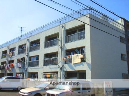 大阪府八尾市、河内山本駅徒歩21分の築40年 3階建の賃貸マンション