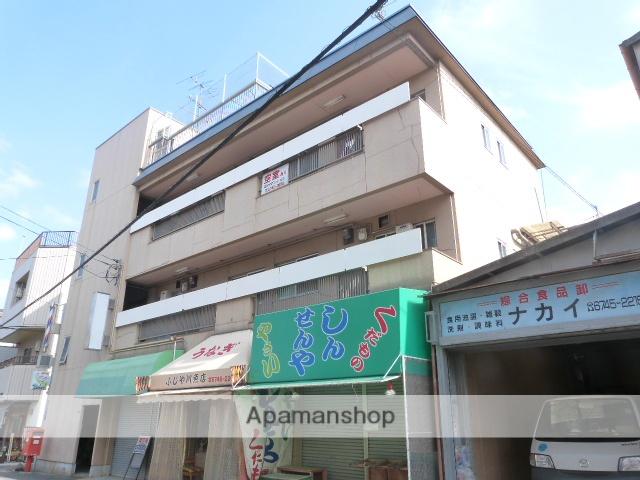 大阪府東大阪市、徳庵駅徒歩5分の築30年 3階建の賃貸マンション