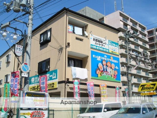 大阪府東大阪市、徳庵駅徒歩2分の築14年 3階建の賃貸マンション