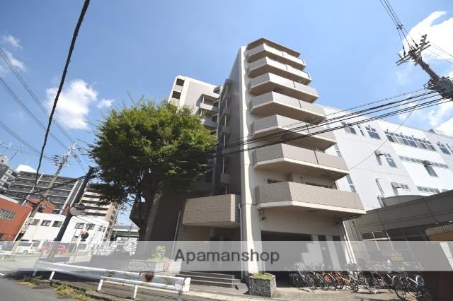 大阪府東大阪市、長田駅徒歩3分の築21年 8階建の賃貸マンション