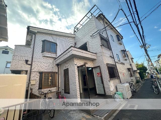 大阪府東大阪市、若江岩田駅徒歩19分の築25年 3階建の賃貸マンション