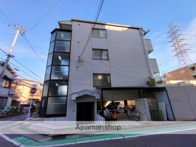 大阪府八尾市、近鉄八尾駅徒歩19分の築27年 3階建の賃貸マンション