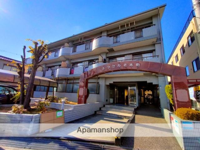 大阪府八尾市、久宝寺口駅徒歩17分の築26年 3階建の賃貸マンション