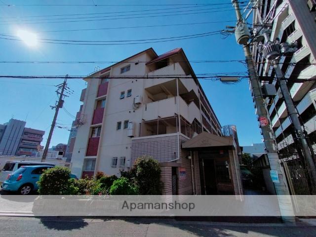 大阪府八尾市、久宝寺口駅徒歩24分の築36年 4階建の賃貸マンション